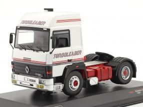 Renault R370 Turboleader Truck 1987 white / red 1:43 Ixo