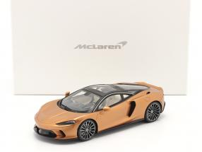 McLaren GT year 2019 copper metallic with showcase 1:18 TrueScale