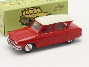 Citroen Ami 6 Berline year 1961 red 1:43 Solido