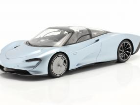 McLaren Speedtail year 2019 liquid crystal with showcase 1:18 TrueScale