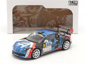 Alpine A110 R-GT #38 Rally Du Mont Blanc 2020 Delecour, Guigonnet 1:18 Solido