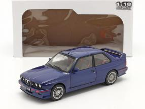 BMW M3 (E30) Coupe year 1990 mauritius blue 1:18 Solido