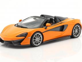 McLaren 570S Spider year 2017 ventura orange 1:18 TrueScale