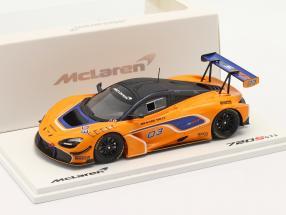 McLaren 720S GT3 2019 #03 orange / blue 1:43 TrueScale