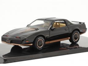 Pontiac Firebird year 1982 black 1:43 Ixo