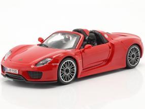 Porsche 918 Spyder year 2015 red 1:24 Bburago