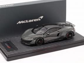 McLaren 600LT Coupe year 2018 chicane grey 1:43 TrueScale