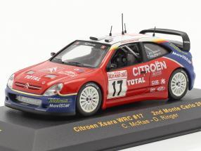 Citroen Xsara WRC #17 rally Monte Carlo 2003 McRae, Ringer 1:43 Ixo