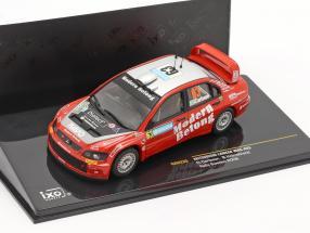 Mitsubishi Lancer WRC #63 rally Sweden 2006 Carlsson, Holmstrand 1:43 Ixo / 2nd choice