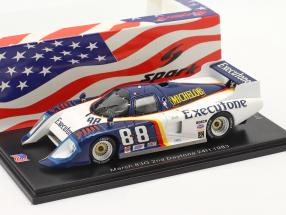 March 83G #88 2nd 24h Daytona 1983 Wolters, Lanier, Hinze 1:43 Spark