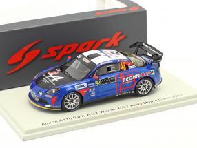 Alpine A110 Rally RGT #43 Winner RGT Rallye Monte Carlo 2021 1:43 Spark