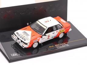 Nissan 240 RS #2 rally Safari 1984 Mehta, Combes 1:43 Ixo