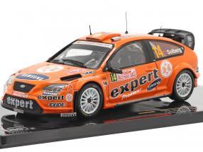 Ford Focus RS 07 WRC #14 rally Monte Carlo 2008 Solberg, Menkerud 1:43 Ixo