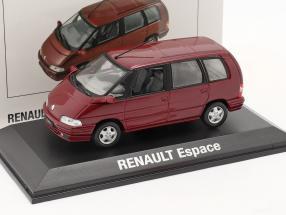 Renault Espace Year 1992 malaga red metallic 1:43 Norev