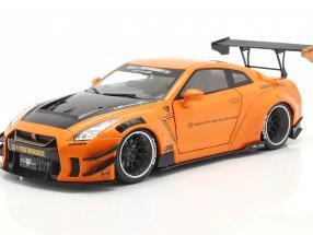 LB Works Nissan GT-R (R35) Type 2 orange metallic 1:18 Solido