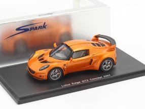 Lotus Exige GT3 Concept 2007 orange 1:43 Spark