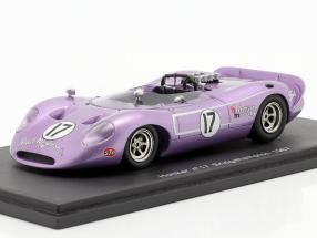 Honker #17 Mario Andretti Bridgehampton 1967 purple Spark 1:43