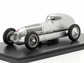 Mercedes-Benz W25 Record Closed Year 1934 silver 1:43 Spark