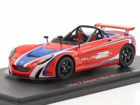 Lotus 2 Eleven Tokyo Motor Show 2007 red / blue 1:43 Spark