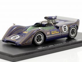 Mark Donohue #6 Sunoco McLaren M6B Can-Am 1968 1:43 Spark