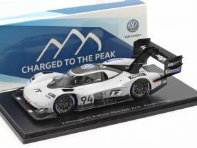Volkswagen VW ID. R #94 Winner Pikes Peak Hill Climb 2018 R. Dumas 1:43 Spark