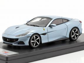 Ferrari Portofino M year 2020 grey-blue metallic 1:43 LookSmart