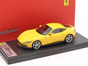 Ferrari Roma year 2020 yellow 1:43 LookSmart