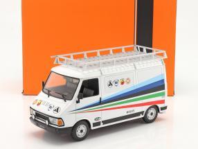 Fiat 242 Van Rallye Technic Assistance Fiat Abarth 1980 1:18 Ixo