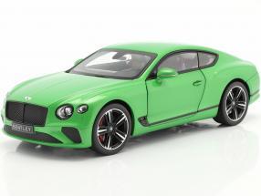 Bentley Continental GT year 2018 apple green