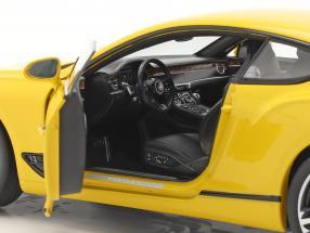 Bentley Continental GT year 2018 Monaco yellow