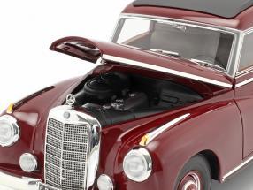 Mercedes-Benz 300 (W186) year 1955 dark red