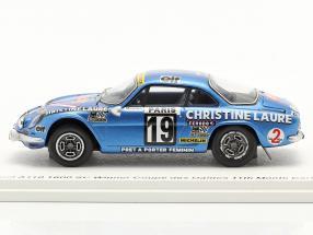 Alpine-Renault A110 1800 # Winner Coupe des Dames Rallye Monte Carlo 1976
