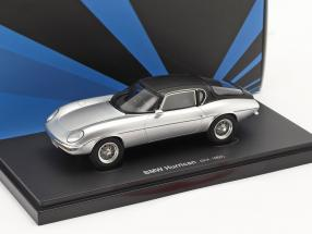 BMW Hurrican year 1964 silver / black 1:43 AutoCult