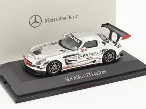 Mercedes-Benz SLS AMG GT3 Laureus chrome 1:43 Spark