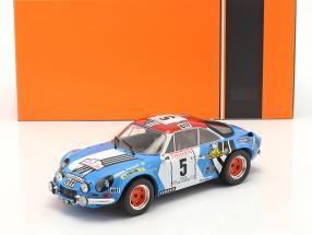 Alpine Renault A110 1800 #5 2nd Rallye Tour de Corse 1973 1:18 Ixo
