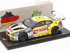 BMW M6 GT3 #98 4th 24h Nürburgring 2020 Rowe Racing 1:43 Spark