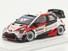 Toyota Yaris WRC #17 winner Rallye Monza WRC champion 2020 1:43 Spark
