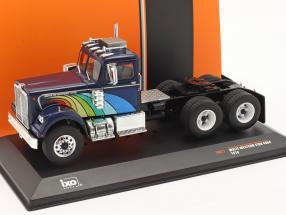 White Western Star 4864 Truck 1970 dark blue 1:43 Ixo