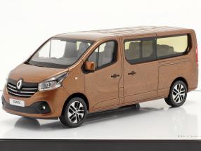 Renault Trafic III Combi year 2018 copper metallic 1:43 Norev