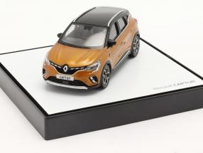 Renault Captur year 2020 taklamakan orange / black 1:43 Norev
