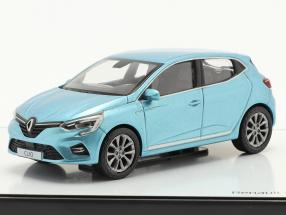 Renault Clio generation 5 year 2019 light blue metallic 1:43 Norev