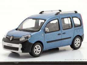 Renault Kangoo Ludospace Construction year 2013 blue metallic 1:43 Norev