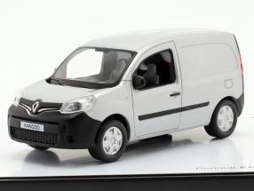 Renault Kangoo generation 2 Facelift 2013 silver grey metallic 1:43 Norev
