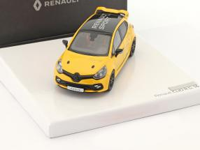 Renault Clio R.S. 16 year 2016 yellow / black 1:43 Norev