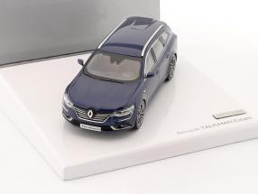 Renault Talisman Estate year 2016 dark blue 1:43 Norev