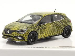 Renault Megane IV R.S. version Monaco 2017 yellow / black 1:43 Norev