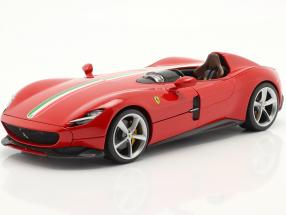 Ferrari Monza SP1 year 2019 red 1:18 Bburago