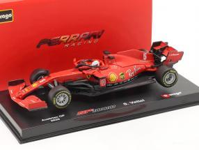Sebastian Vettel Ferrari SF1000 #5 Austrian GP formula 1 2020 1:43 Bburago