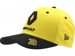 Cap Renault F1 Team 2019 #3 Ricciardo yellow / black size M / L