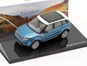 Land Rover Range Rover Evoque 5-door mauritius blue 1:43 Ixo